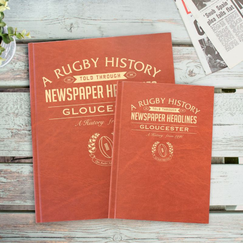 Rugby  History - Newspaper Books | Sweet and Nostalgic